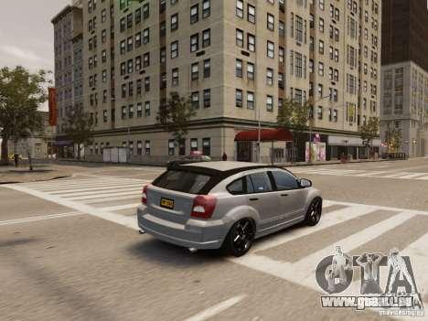 Dodge Caliber pour GTA 4 Salon