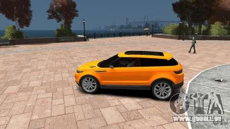 Range Rover LRX 2010 pour GTA 4 est une gauche