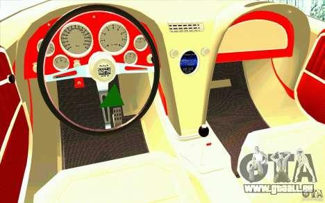 Mamba Speedboat für GTA San Andreas rechten Ansicht