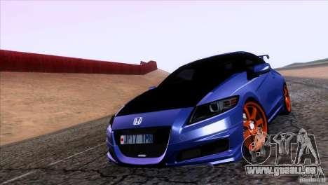 Honda CR-Z Mugen 2011 V1.0 pour GTA San Andreas