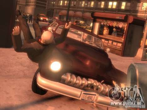 Hermes HD für GTA 4 rechte Ansicht