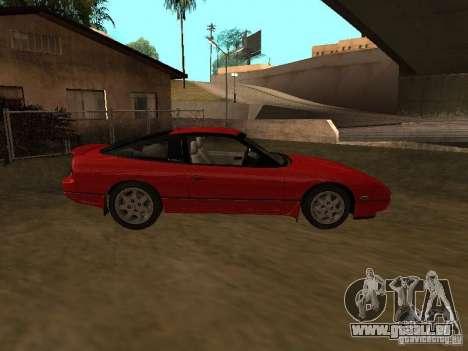 Nissan 240SX tunable pour GTA San Andreas vue arrière