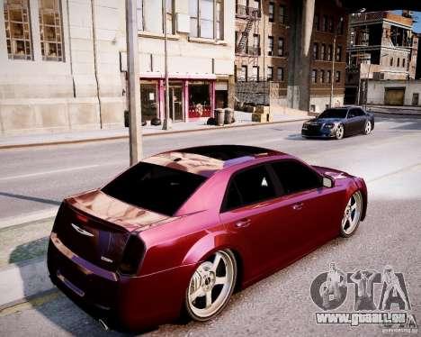 Chrysler 300 SRT8 DUB 2012 für GTA 4 Rückansicht