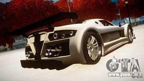 Gumpert Apollo Sport KCS Special Edition v1.1 pour GTA 4 est une gauche