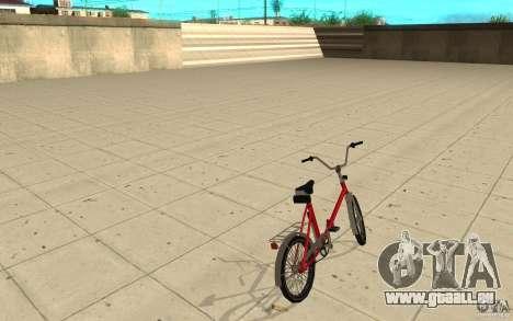 Velta Kama pour GTA San Andreas sur la vue arrière gauche