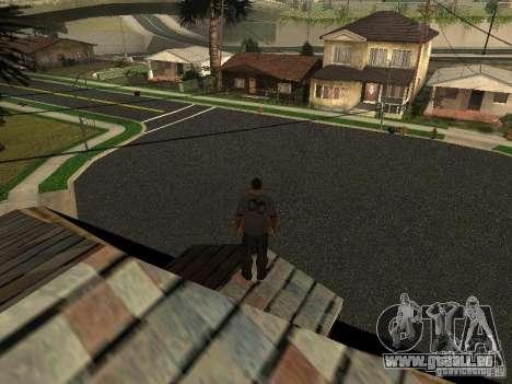 Construction de nouvelles routes à Los Santos pour GTA San Andreas
