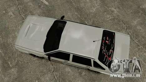Volkswagen Santana Shanghai Century Rookie pour GTA 4 est un droit