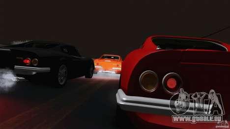 Ferrari 246 Dino GTS pour GTA San Andreas vue intérieure