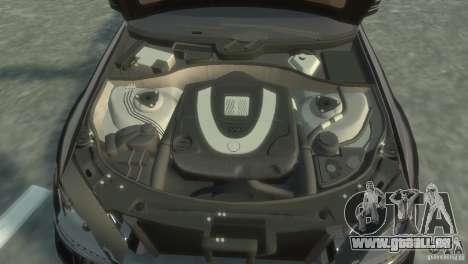 Mercedes-Benz S350 VIP pour GTA 4 vue de dessus