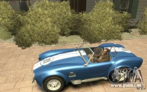 Shelby Cobra 427 SC 1965 pour GTA 4 est une gauche