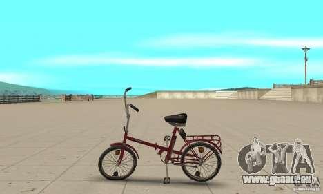Vélo de Kama pour GTA San Andreas laissé vue