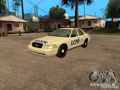 Ford Crown Victoria 2003 Police pour GTA San Andreas