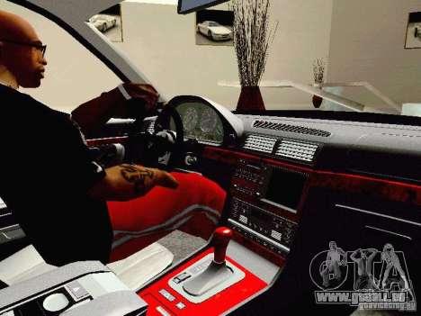 BMW 740i Tuned For Drift pour GTA San Andreas vue arrière