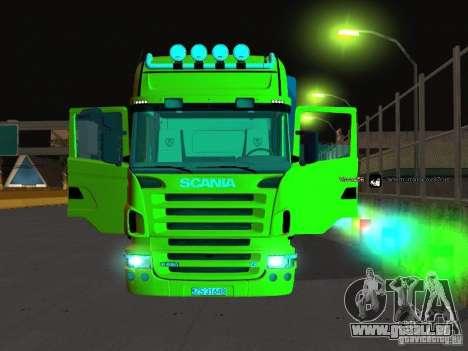 Scania R620 pour GTA San Andreas vue de côté