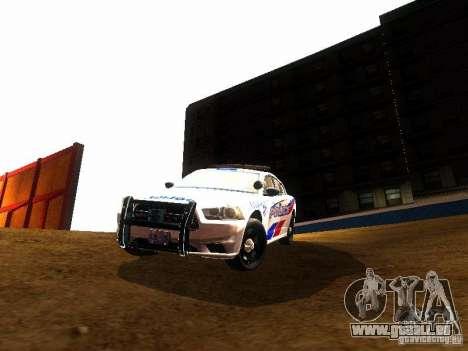 Dodge Charger 2011 Toronto Police für GTA San Andreas Innenansicht
