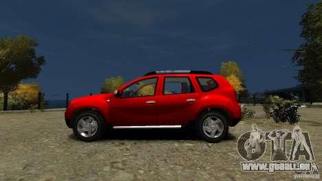 Dacia Duster SUV 4x4 2010 für GTA 4 linke Ansicht