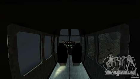 TboGT Swift pour GTA 4 est une vue de l'intérieur