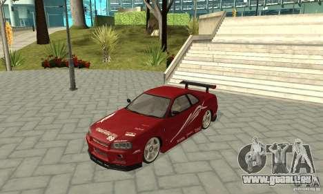 Nissan Skyline R-34 GTR pour GTA San Andreas