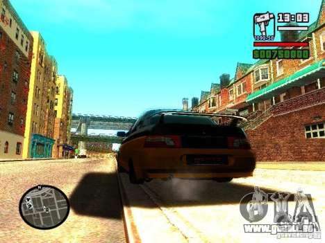 VAZ 2110 HERTZ-style (DAG) Orange pour GTA San Andreas vue de droite