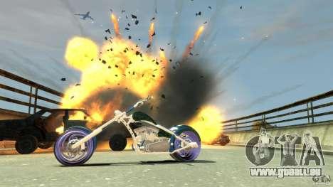 HellFire Chopper pour GTA 4 est un côté