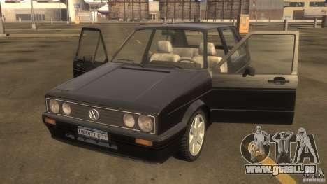 Volkswagen Golf pour GTA 4 est une gauche