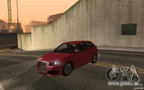 Audi S3 Tunable pour GTA San Andreas vue de droite