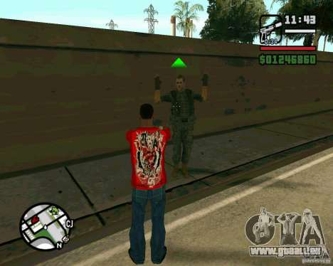 Soldats irakiens pour GTA San Andreas