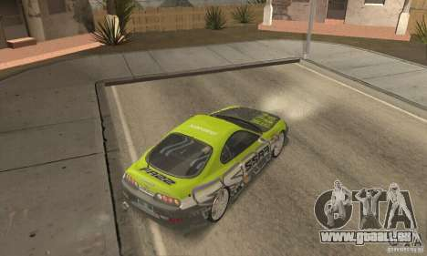 Toyota Supra Tunable 2 pour GTA San Andreas vue de côté