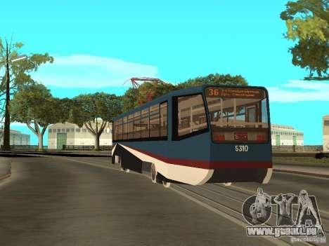 Die neue Straßenbahn für GTA San Andreas sechsten Screenshot