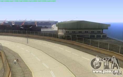 Routes en béton de Los Santos Beta pour GTA San Andreas