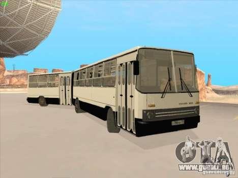 IKARUS 280.03 pour GTA San Andreas vue intérieure
