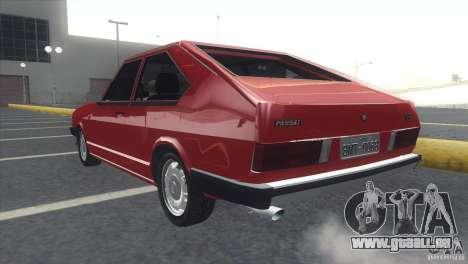 Volkswagen Passat TS 1981 Original für GTA San Andreas linke Ansicht