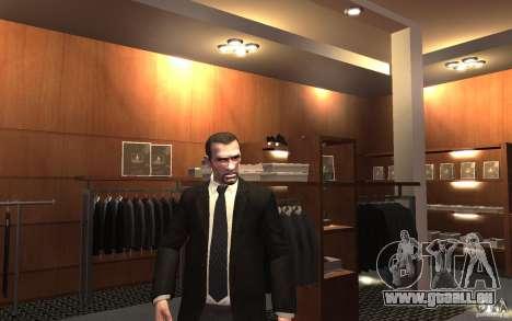 Offene Jacken mit Krawatten für GTA 4 sechsten Screenshot