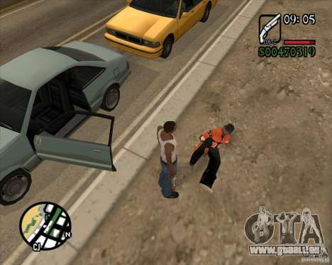 Endorphin Mod v.3 für GTA San Andreas fünften Screenshot
