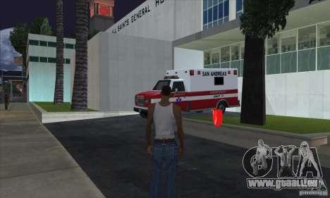 Trousse de premiers soins 1.0 pour GTA San Andreas