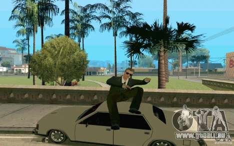 Black MIB pour GTA San Andreas deuxième écran