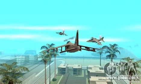 Guerre aérienne pour GTA San Andreas troisième écran