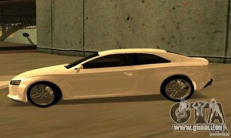 Audi Quattro Concept 2013 für GTA San Andreas zurück linke Ansicht
