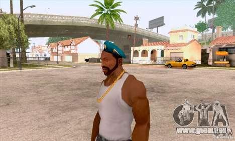 Béret AIRBORNE pour GTA San Andreas deuxième écran