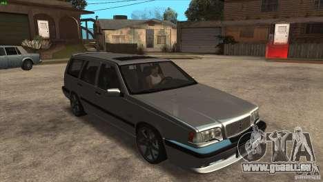 Volvo 850 R für GTA San Andreas Rückansicht