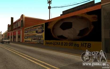 Nouvelle rue de la plage pour GTA San Andreas quatrième écran