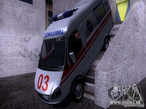 Ambulance Gazelle 2705 pour GTA San Andreas