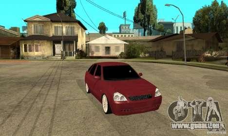 VAZ Lada Priora 2172 LT pour GTA San Andreas vue arrière