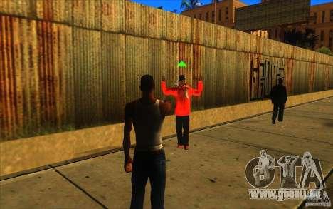 Grande vue pour GTA San Andreas quatrième écran