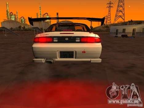 Nissan Silvia S14 JDM pour GTA San Andreas sur la vue arrière gauche