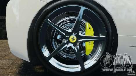 Ferrari 458 Italia 2010 v2.0 für GTA 4 Rückansicht