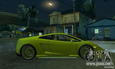 Lamborghini Gallardo LP560-4 Hamann für GTA San Andreas Rückansicht