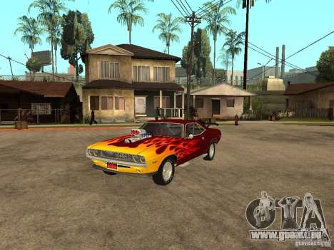 Dodge Challenger Tuning pour GTA San Andreas