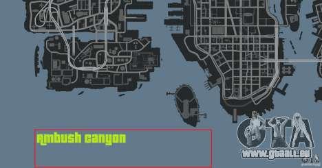 Ambush Canyon für GTA 4