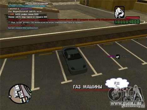 Steuern Sie Ihr Auto überall für GTA San Andreas